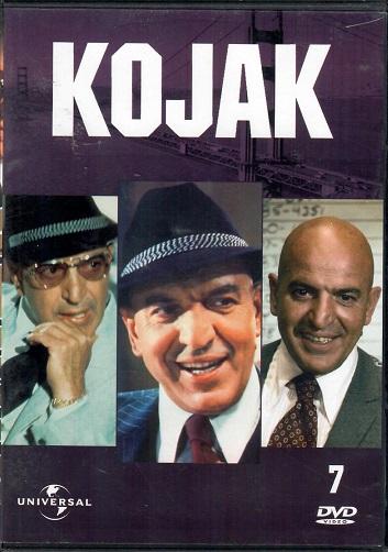 Kojak 7 ( slim ) DVD