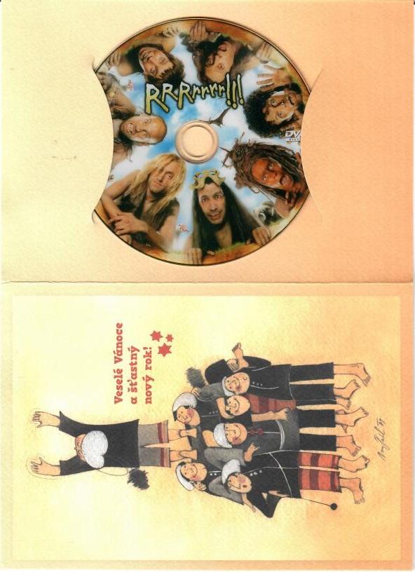 RRRrrrr!!! - DVD ( dárková obálka )