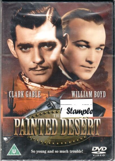 The Painted Desert - DVD plast