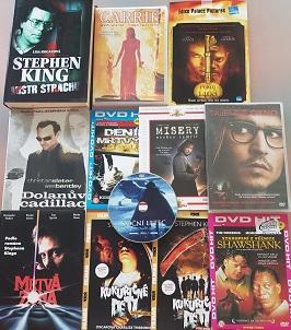 Kolekce Stephen King-11 DVD+kniha