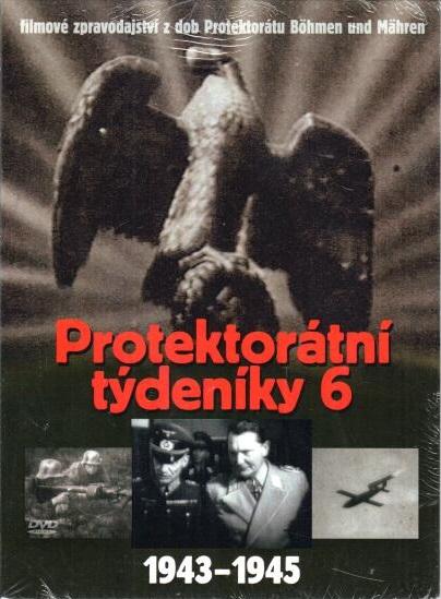 Protektorátní týdeníky 6 ( 1943-1946) - DVD digipack