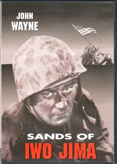 Sands of Iwo Jima ( V písku ostrova Iwo Jima) - DVD plast