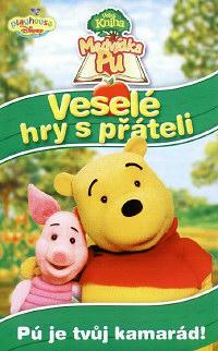 Velká kniha Medvídka Pú - Veselé hry s přáteli - DVD plast