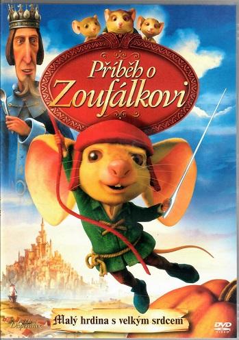 Příběh o Zoufálkovi ( plast ) DVD