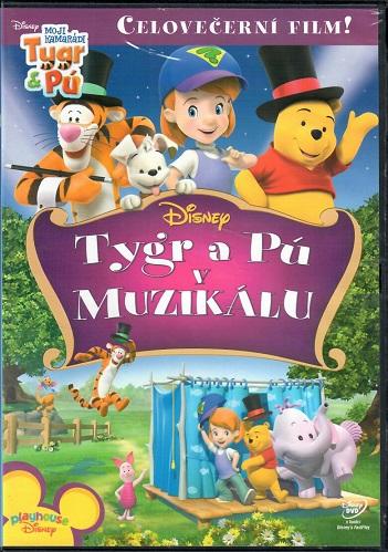 Tygr a Pú v muzikálu ( plast ) DVD