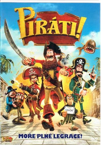 Piráti! ( plast ) DVD