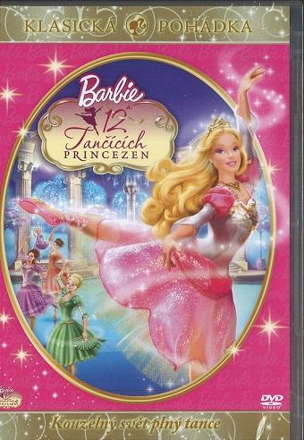 Barbie a 12 tančících princezen - DVD