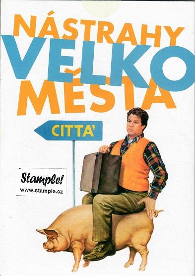 Nástrahy velkoměsta ( pošetka )  DVD