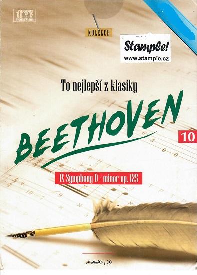 To nejlepší z klasiky : BEETHOVEN- IX symphony D minor op. 25 ( pošetka ) CD