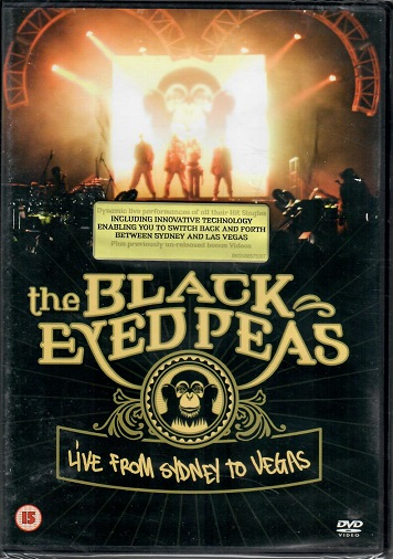 The Black Eyed Peas - Live from Sydney to Vegas ( plast ) DVD