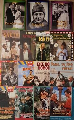 Výprodej českých filmů - 450 DVD
