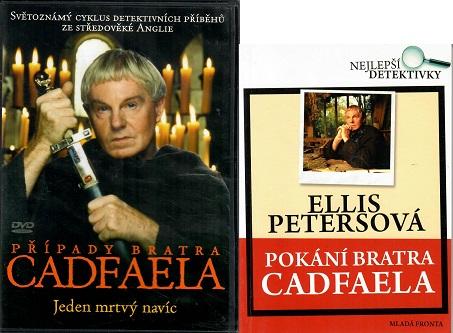 Pokání bratra Cadfaela - Ellis Petersonová ( 1x kniha bazarová + DVD )