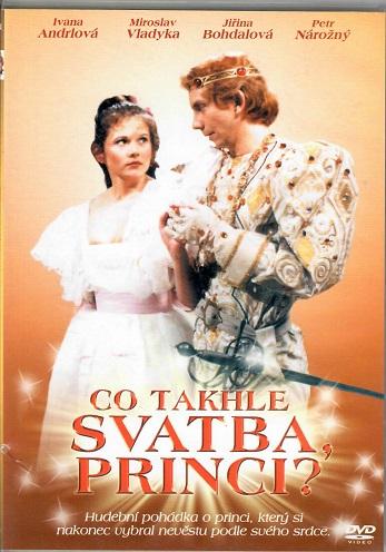 Co takhle svatba, princi?  ( slim ) DVD