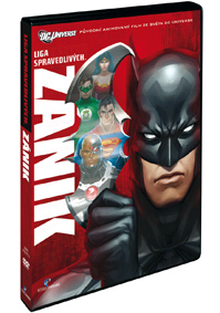 Liga spravedlivých: Zánik - DVD plast
