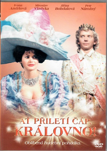 Ať přiletí čáp, královno! ( slim ) DVD
