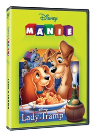 Lady a Tramp DE - Disney mánie - DVD