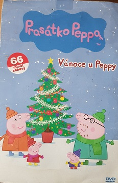 Prasátko Peppa-Vánoce u Peppy/bazarové zboží/pošetka-DVD
