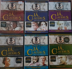 Kolekce Já, Claudius 6 DVD/digipack/