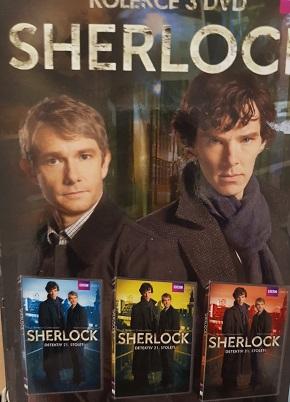 Kolekce Sherlock detektiv 21.století 3DVD/digipack/