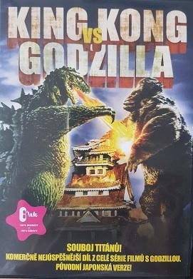 King Kong vs. Godzilla- v původním znění/plast/-DVD