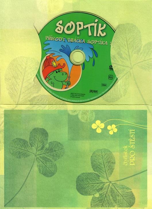Příhody dráčka Soptíka 1 ( dárkový papír obal ) DVD