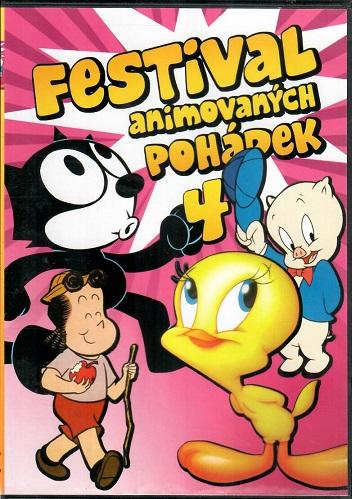Festival animovaných pohádek 4 - plast DVD