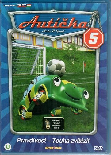 Autíčka 5 - Plast DVD