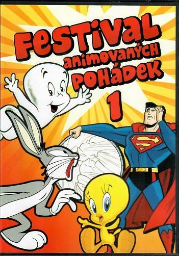 Festival animovaných pohádek 1 - plast DVD