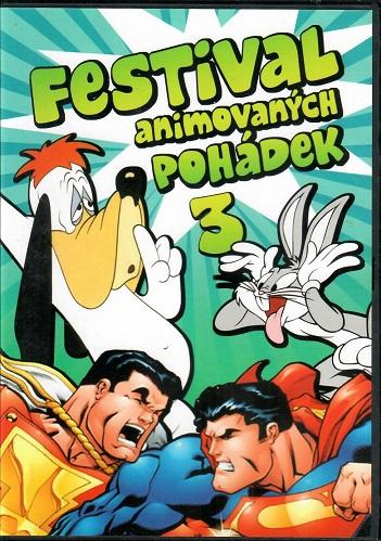 Festival animovaných pohádek 3 - plast DVD