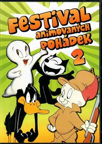 Festival animovaných pohádek 2 - plast DVD