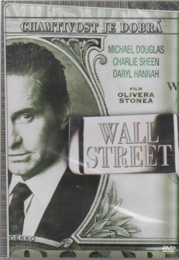 Wall Street - DVD plast