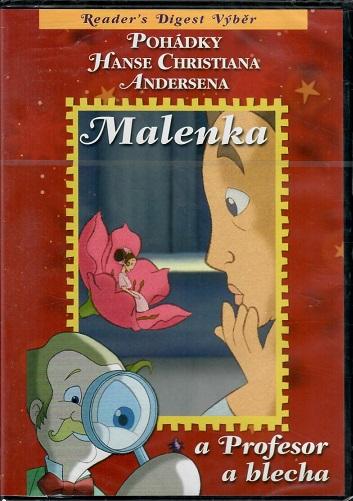 Pohádky H. CH. Andersena: Malenka / Profesor a blecha ( plast ) DVD