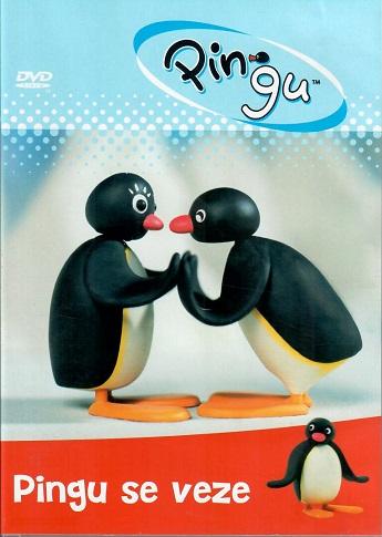 Pingu: Pingu se veze ( plast ) DVD