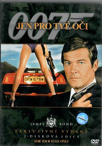 James Bond 09 - Jen pro tvé oči 2 DVD plast