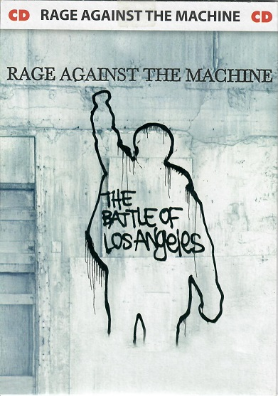 Rage against the machine - The Battle of Los Angeles - pošetka  CD