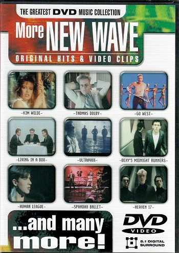 The gratest DVD music collection - More new wave original hits & video clips ( plast ) DVD