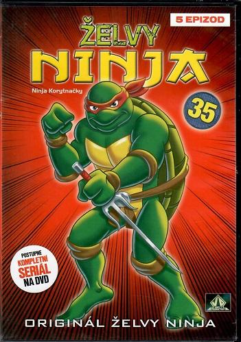 Želvy ninja 35 ( plast ) DVD