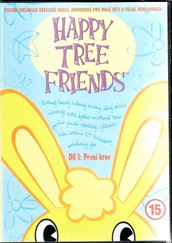 Happy tree friends Díl 1: První krev ( plast ) DVD