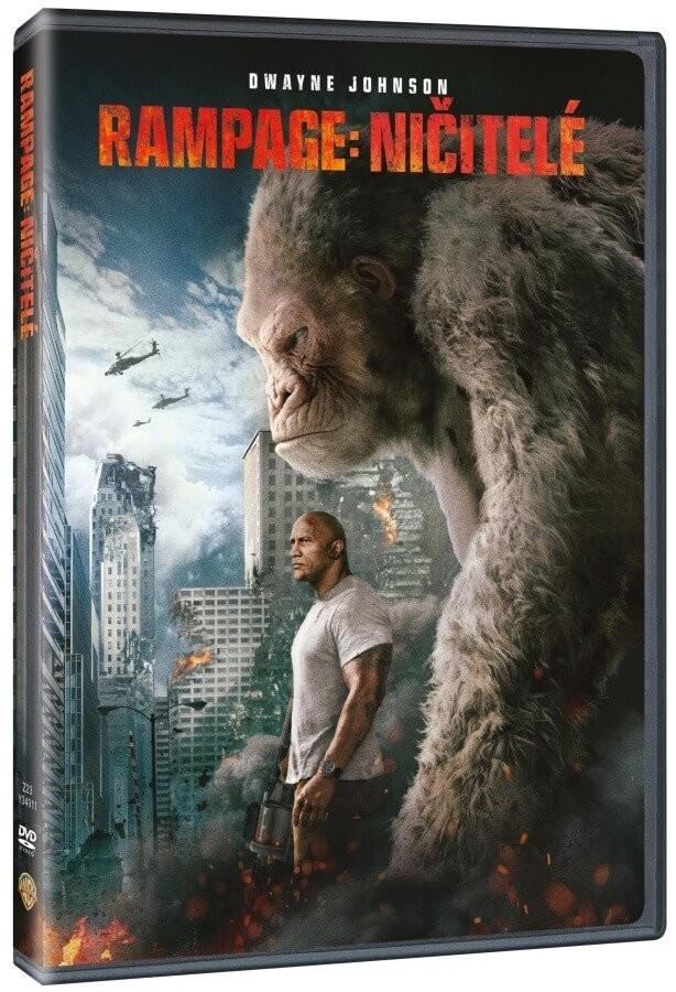 Rampage: Ničitelé - DVD plast