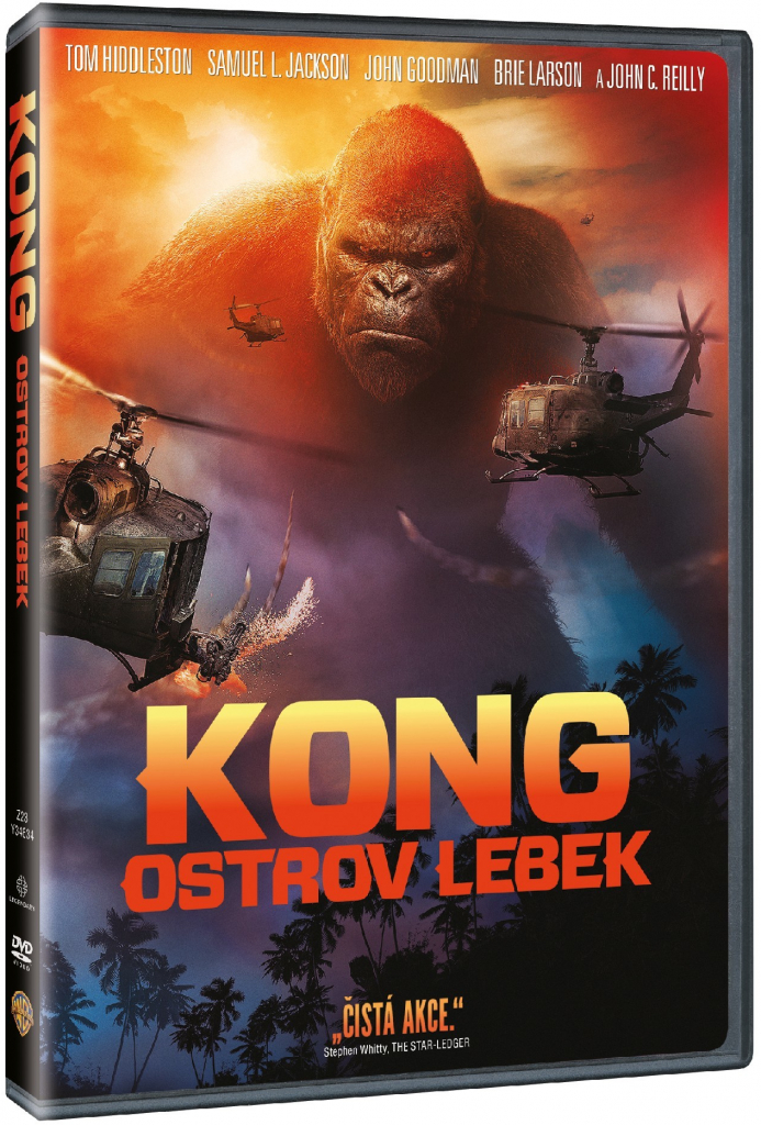 Kong: Ostrov lebek - DVD plast