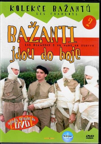 Bažanti 02 - Bažanti jdou do boje ( plast ) DVD