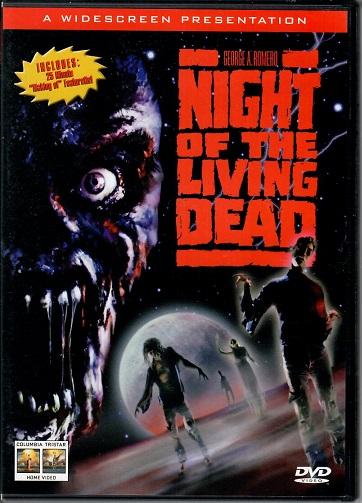 Night of the living dead / Noc oživlých mrtvol ( originální znění, titulky CZ ) plast DVD