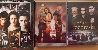 Kolekce Twilight sága 5DVD/bazarové zboží/