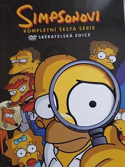 Simpsonovi kompletní 6.série-DVD