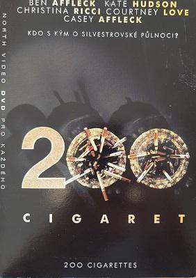 200 cigaret /papírový obal/-DVD