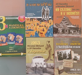 Cestovatelé Jiří Hanzelka a Miroslav Zikmund-sběratelská kolekce cestopisů  11 DVD
