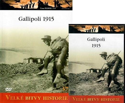 Velké bitvy historie - Gallipoli 1915 ( časopis + DVD )