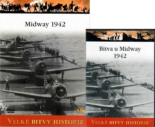 Velké bitvy historie 48 - Bitva u Midway 1942 ( časopis + DVD )