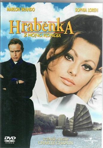 Hraběnka z Hongkongu ( originální znění, titulky CZ ) plast DVD