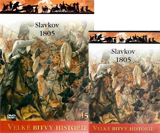 Velké bitvy historie 15 - Slavkov 1805 ( časopis + DVD )